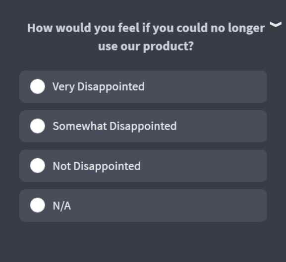 How would you feel if you could no longer use our product