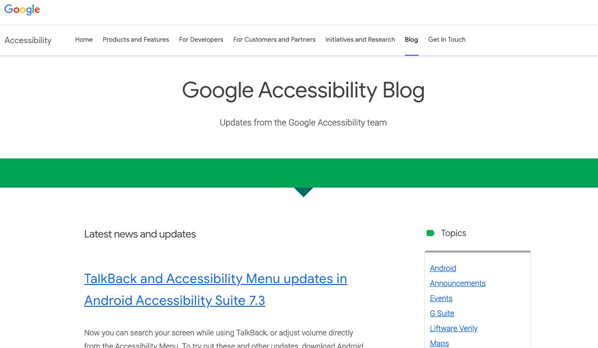 Google-Accessibility