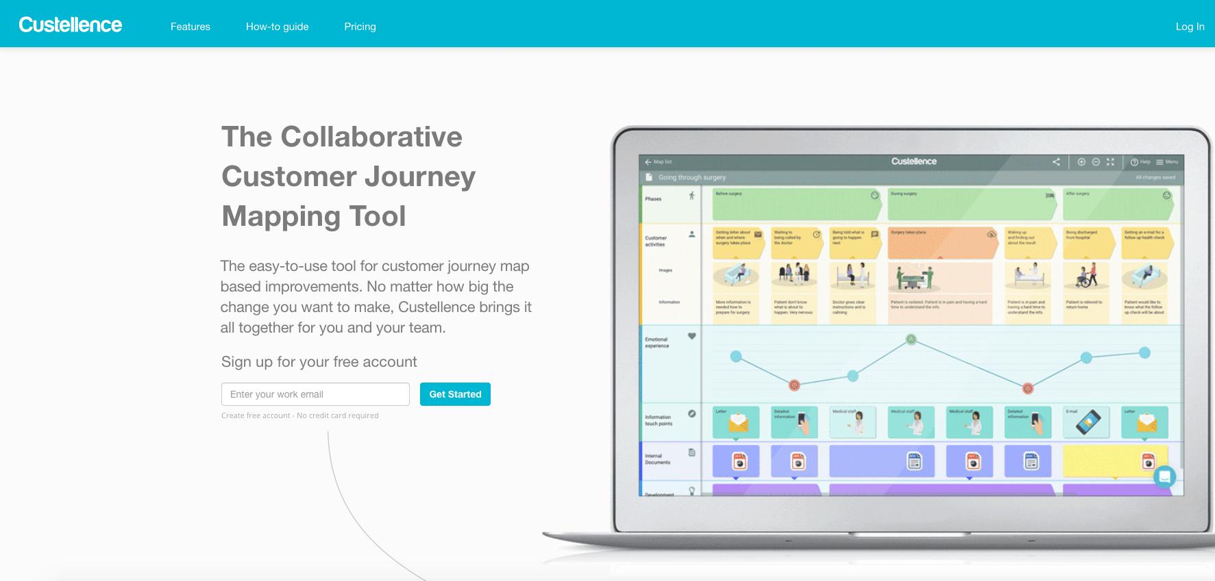 UX-Customer-Journey-Mapping-Tool-Custellence