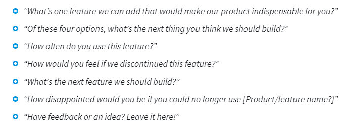 Measure the importance of new features for your product or service