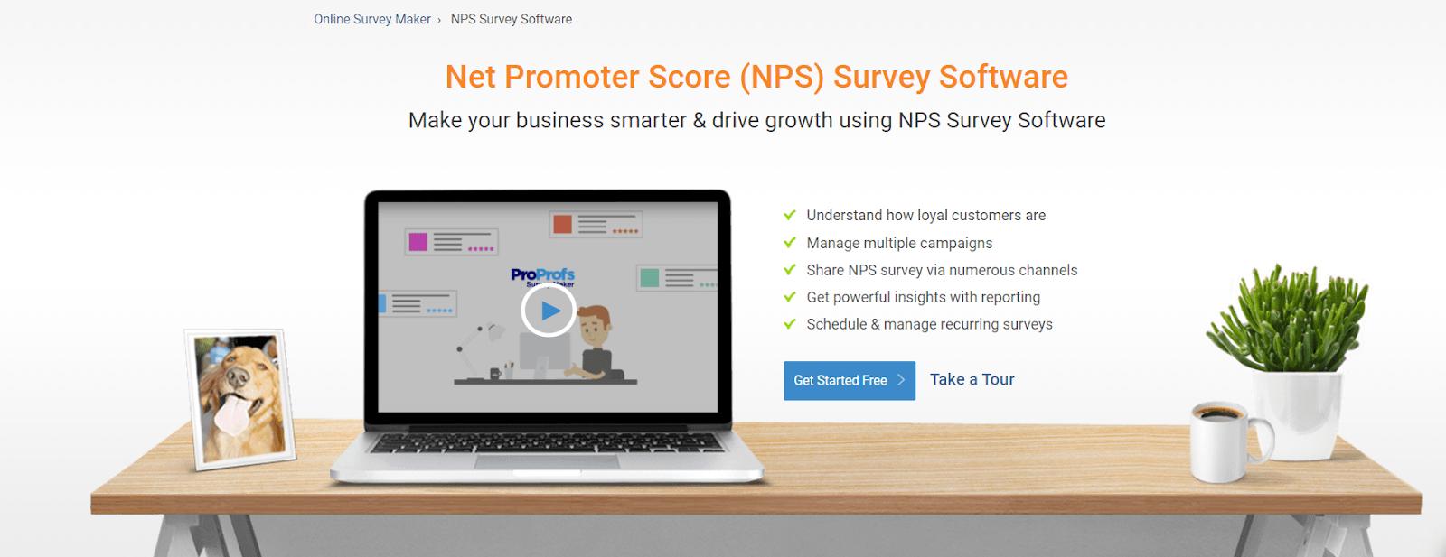 ProProfs-NPS Software