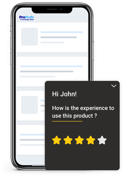 Personalize user experience