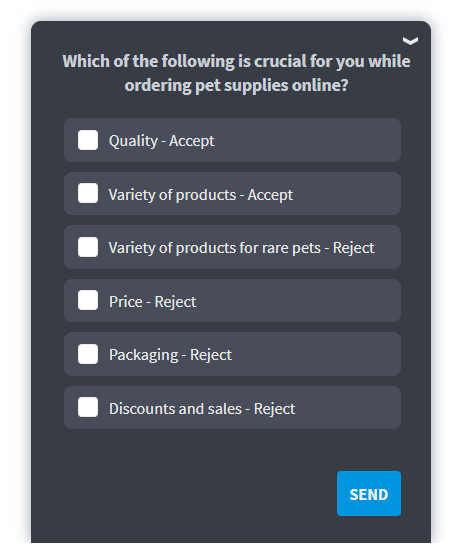 Add secondary criteria to zero in on your relevant audience