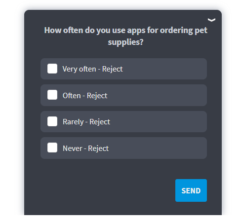 wrong question example for targeted demographic