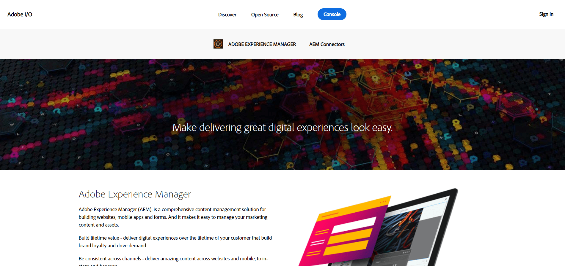 Adobe Experience Manager tool