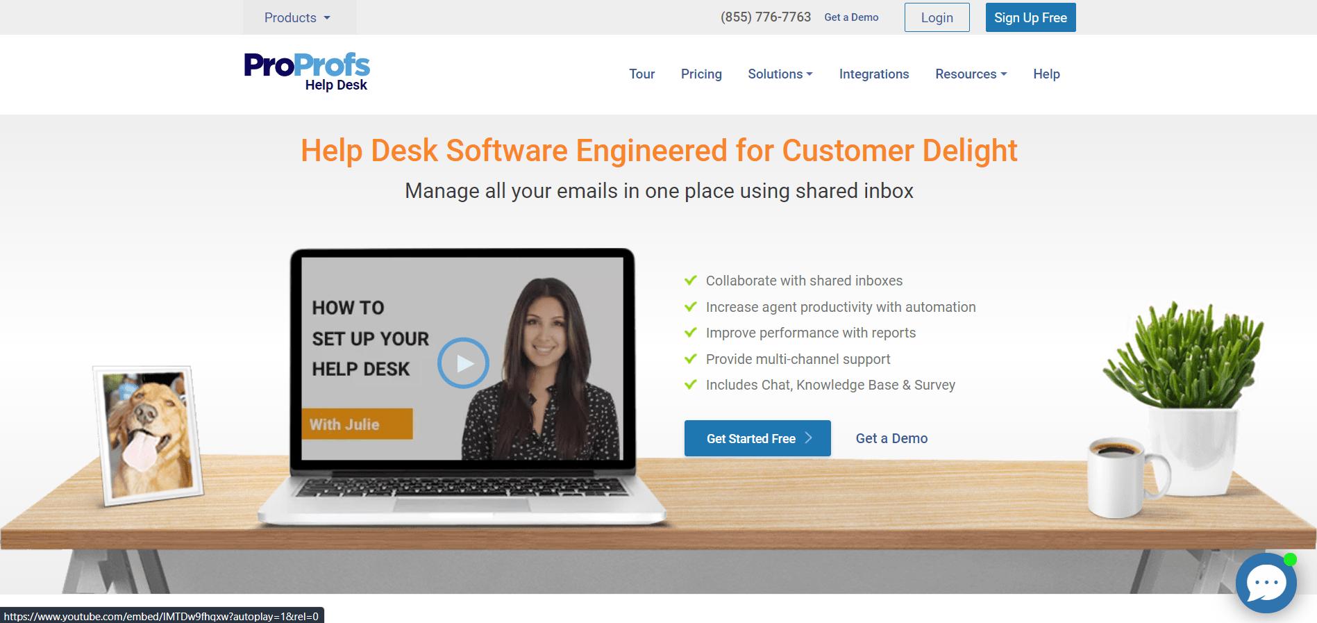 Proprofs help desk