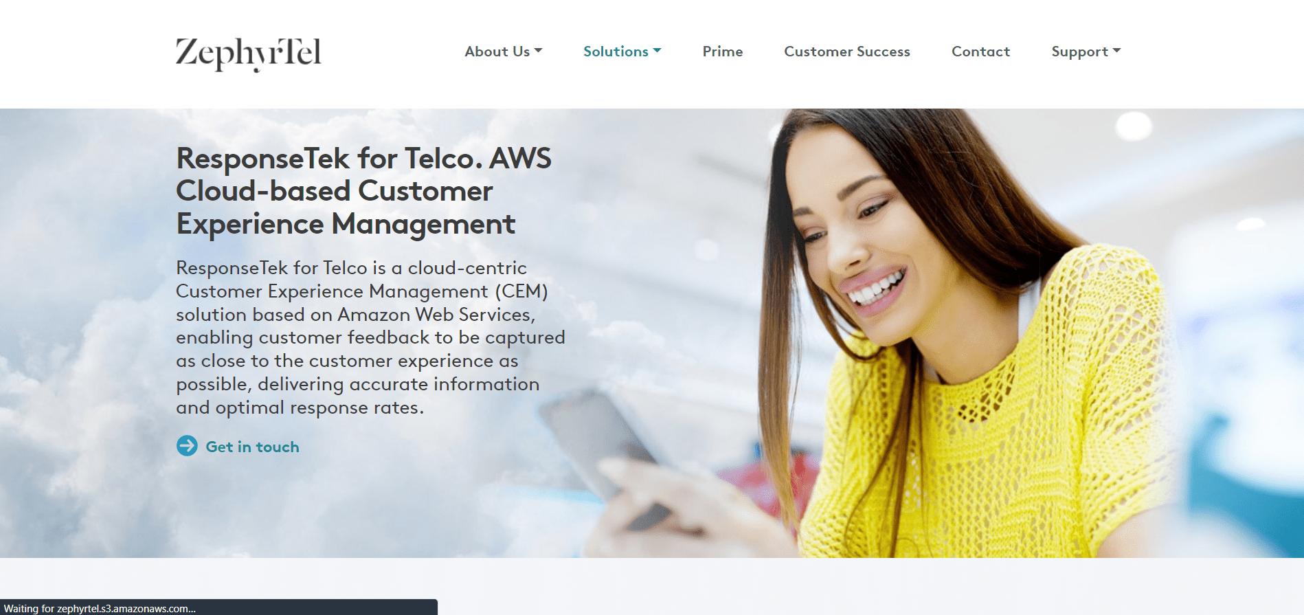 Responsetek customer experience management tool
