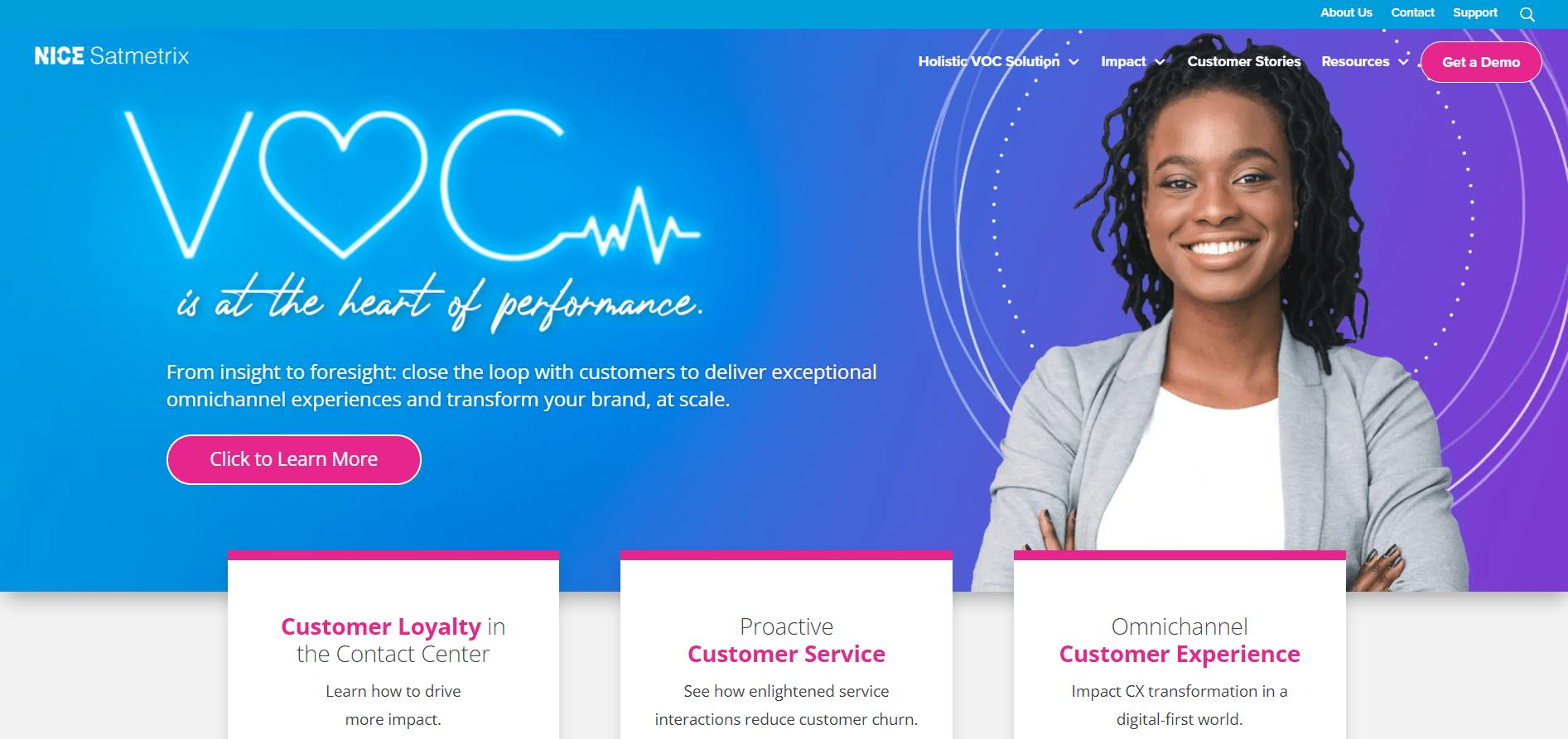 Satmetrix for customer experience